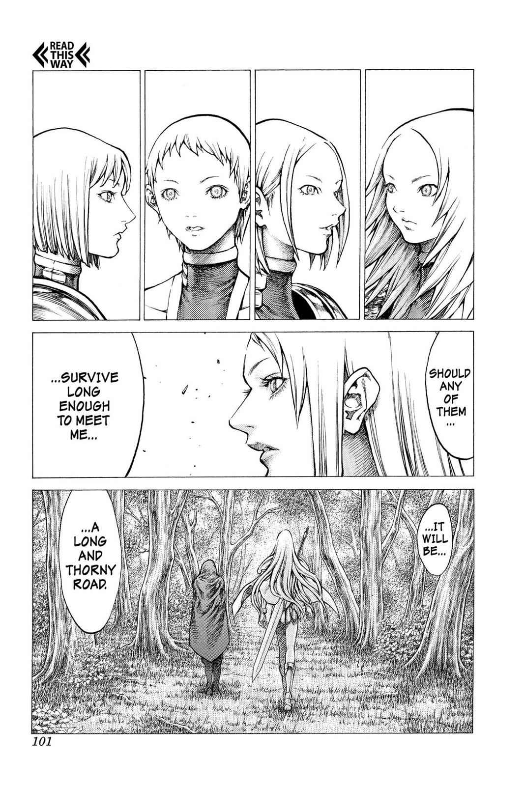 Claymore Chapter 30 Page 32
