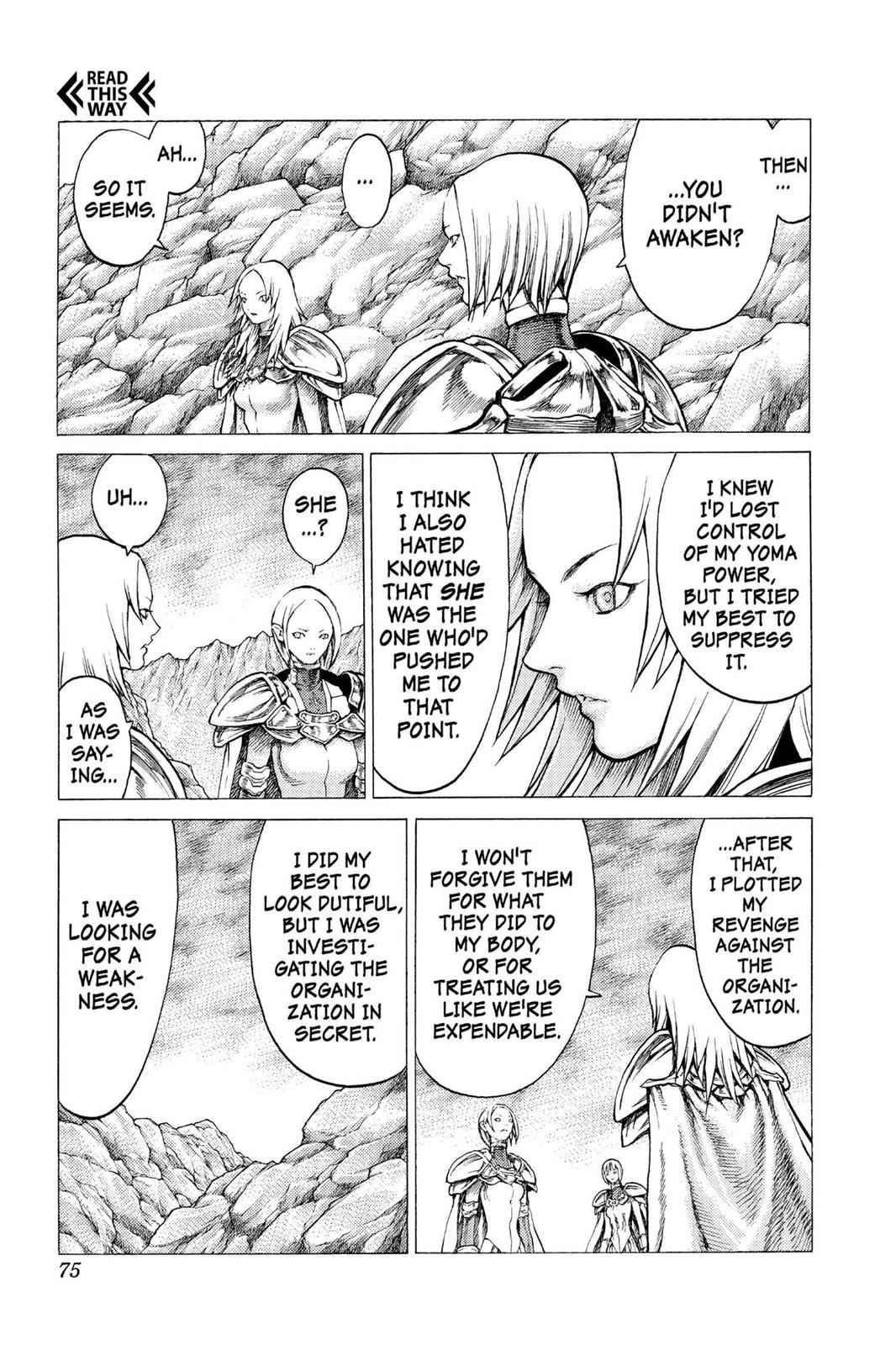 Claymore Chapter 30 Page 6