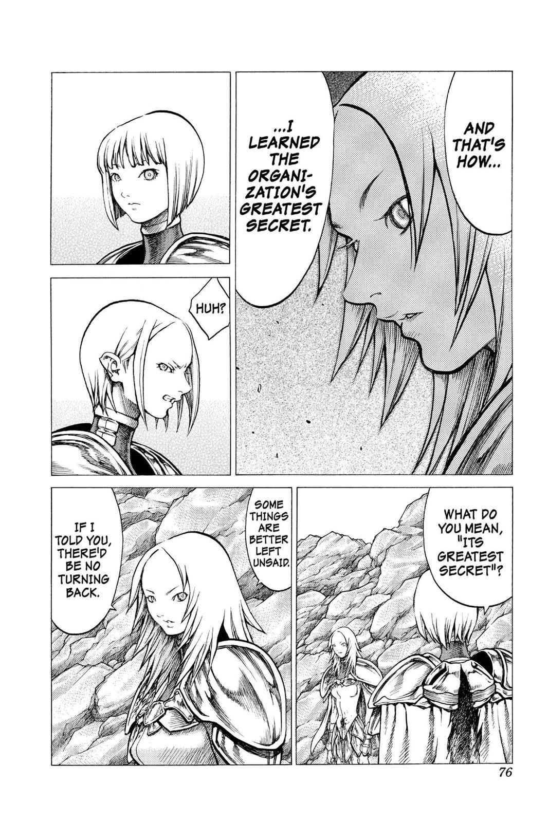 Claymore Chapter 30 Page 7