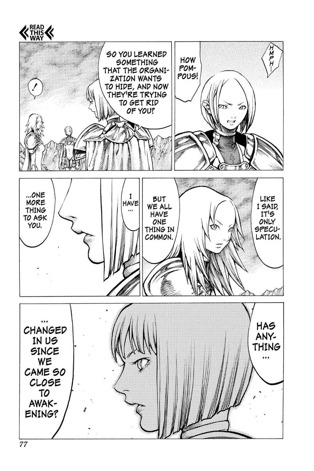 Claymore Chapter 30 Page 8