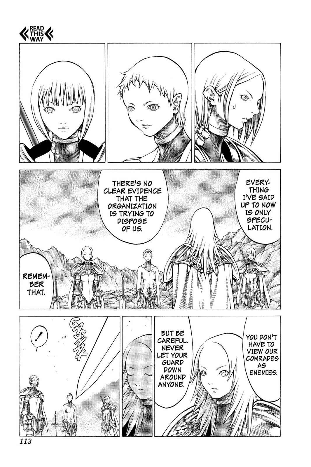 Claymore Chapter 31 Page 10
