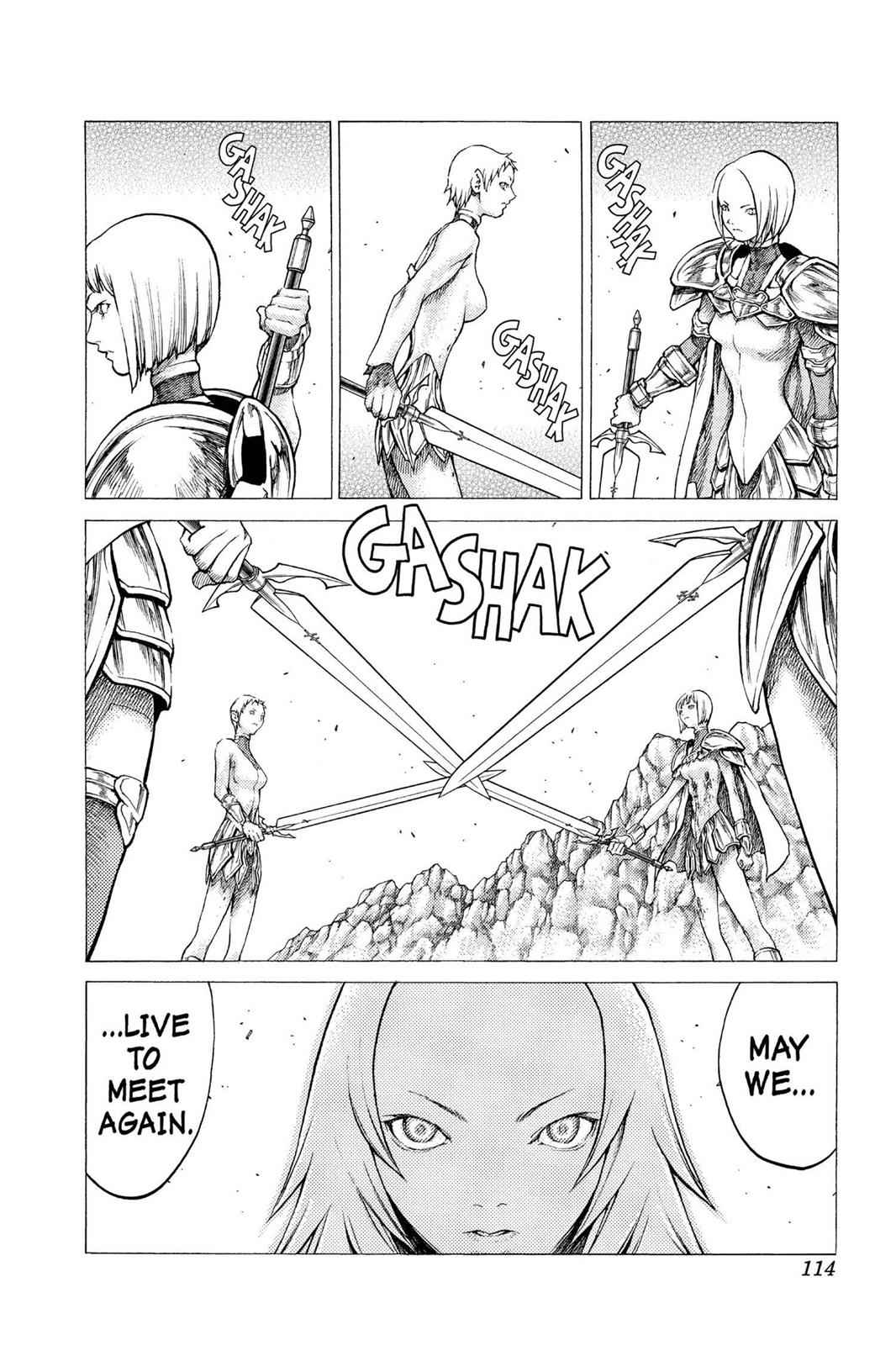 Claymore Chapter 31 Page 11