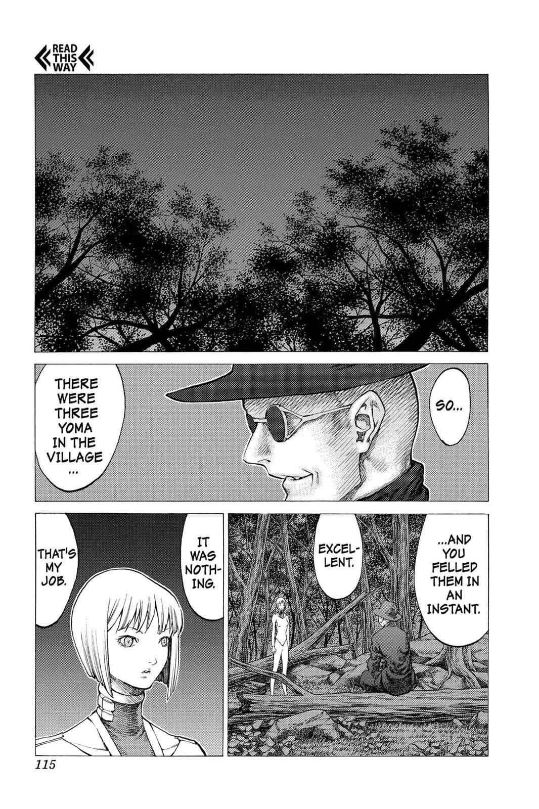 Claymore Chapter 31 Page 12
