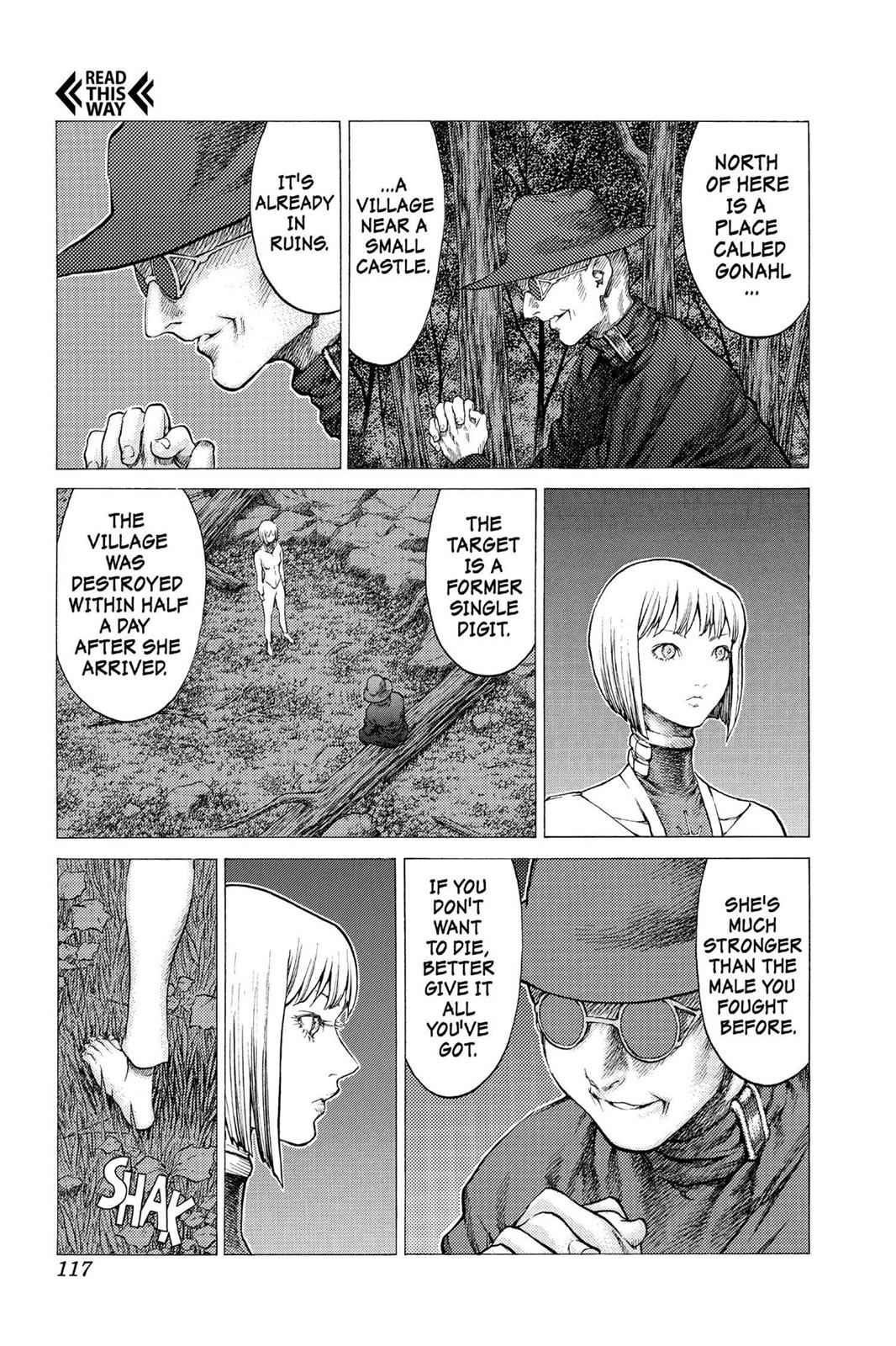 Claymore Chapter 31 Page 14