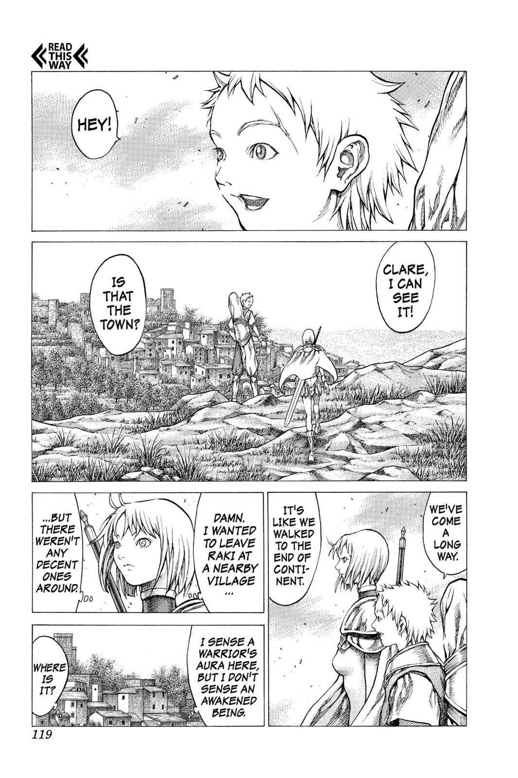 Claymore Chapter 31 Page 16
