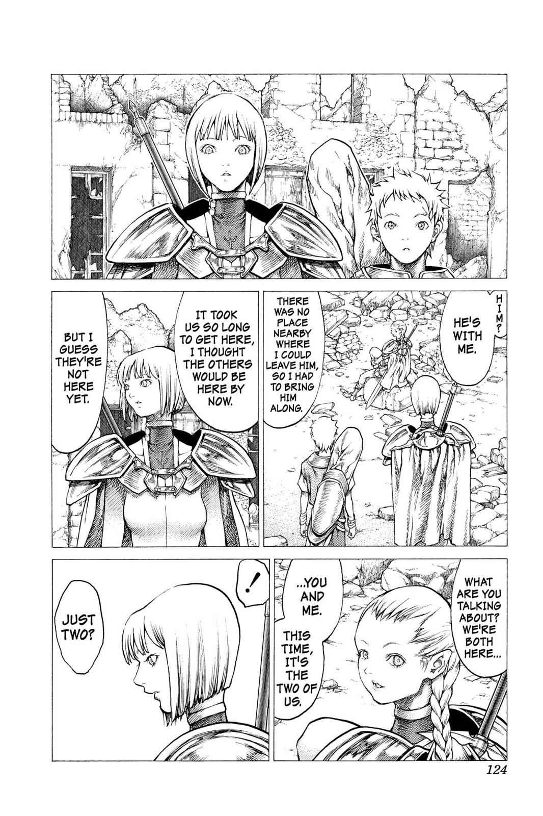 Claymore Chapter 31 Page 21