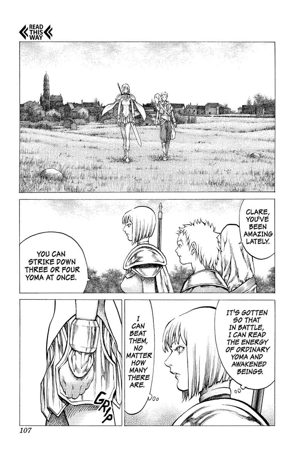 Claymore Chapter 31 Page 4