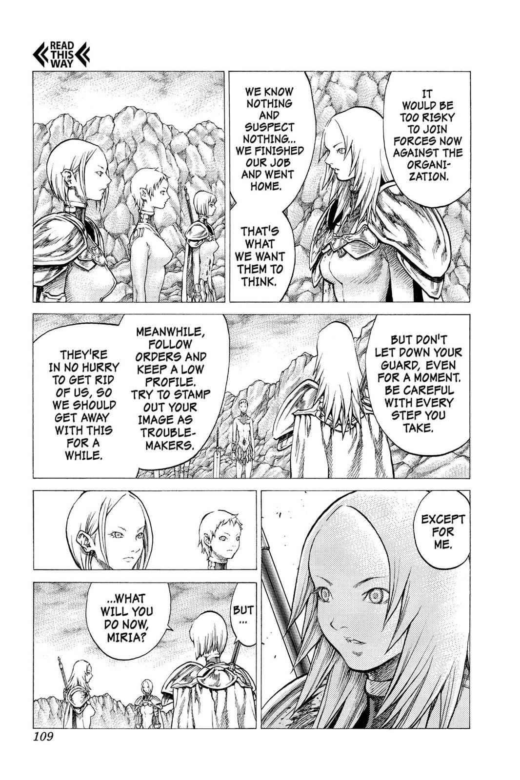 Claymore Chapter 31 Page 6