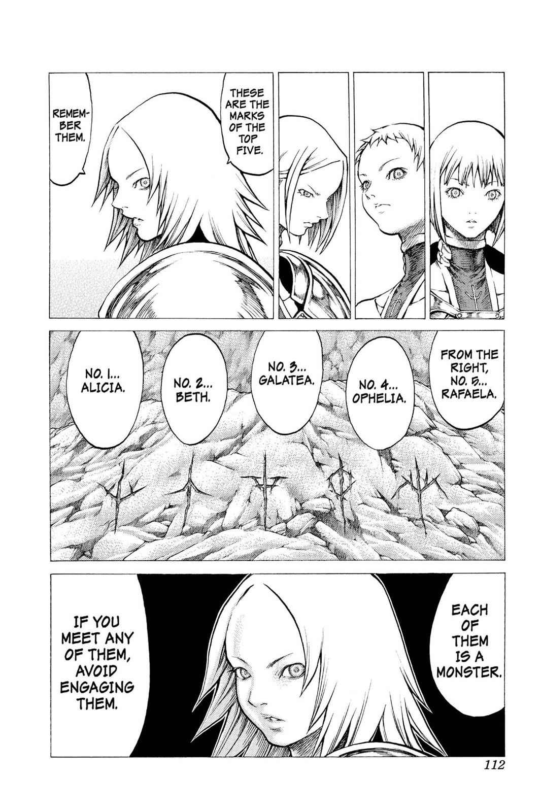 Claymore Chapter 31 Page 9