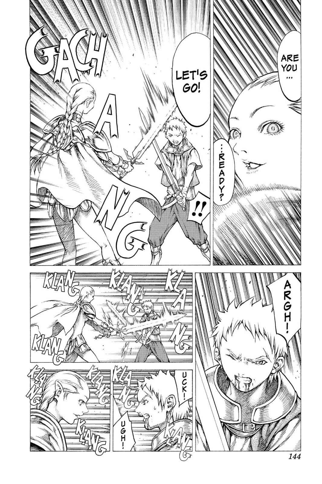Claymore Chapter 32 Page 10