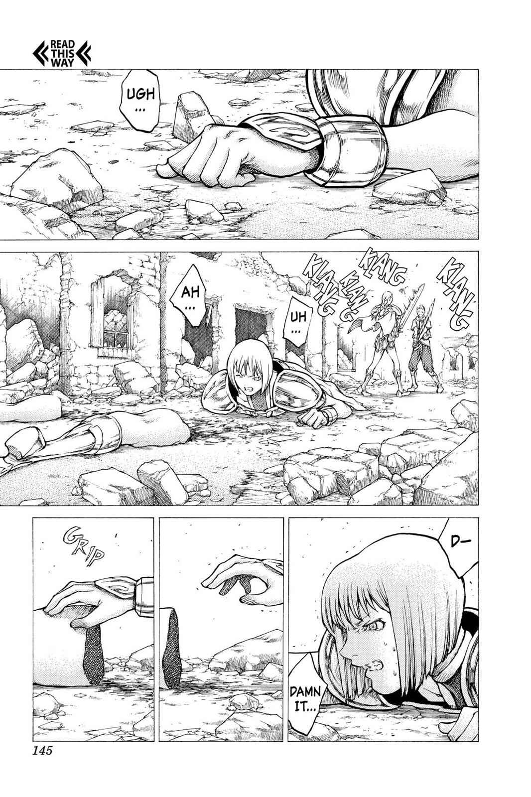 Claymore Chapter 32 Page 11