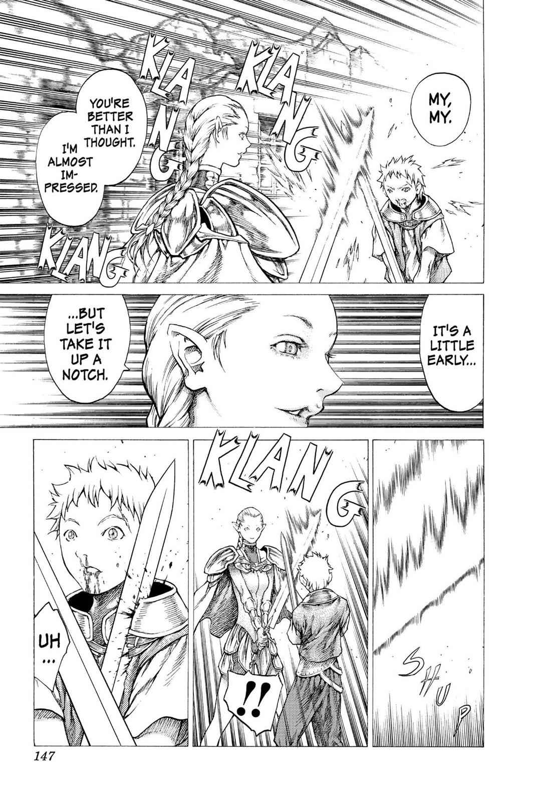 Claymore Chapter 32 Page 13