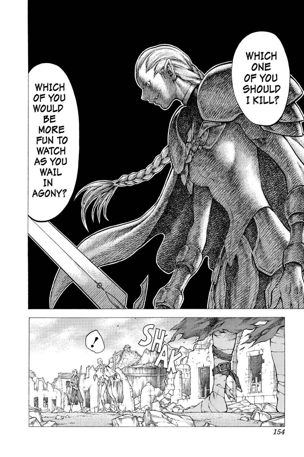 Claymore Chapter 32 Page 20