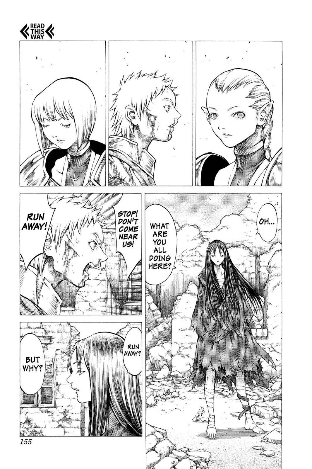 Claymore Chapter 32 Page 21
