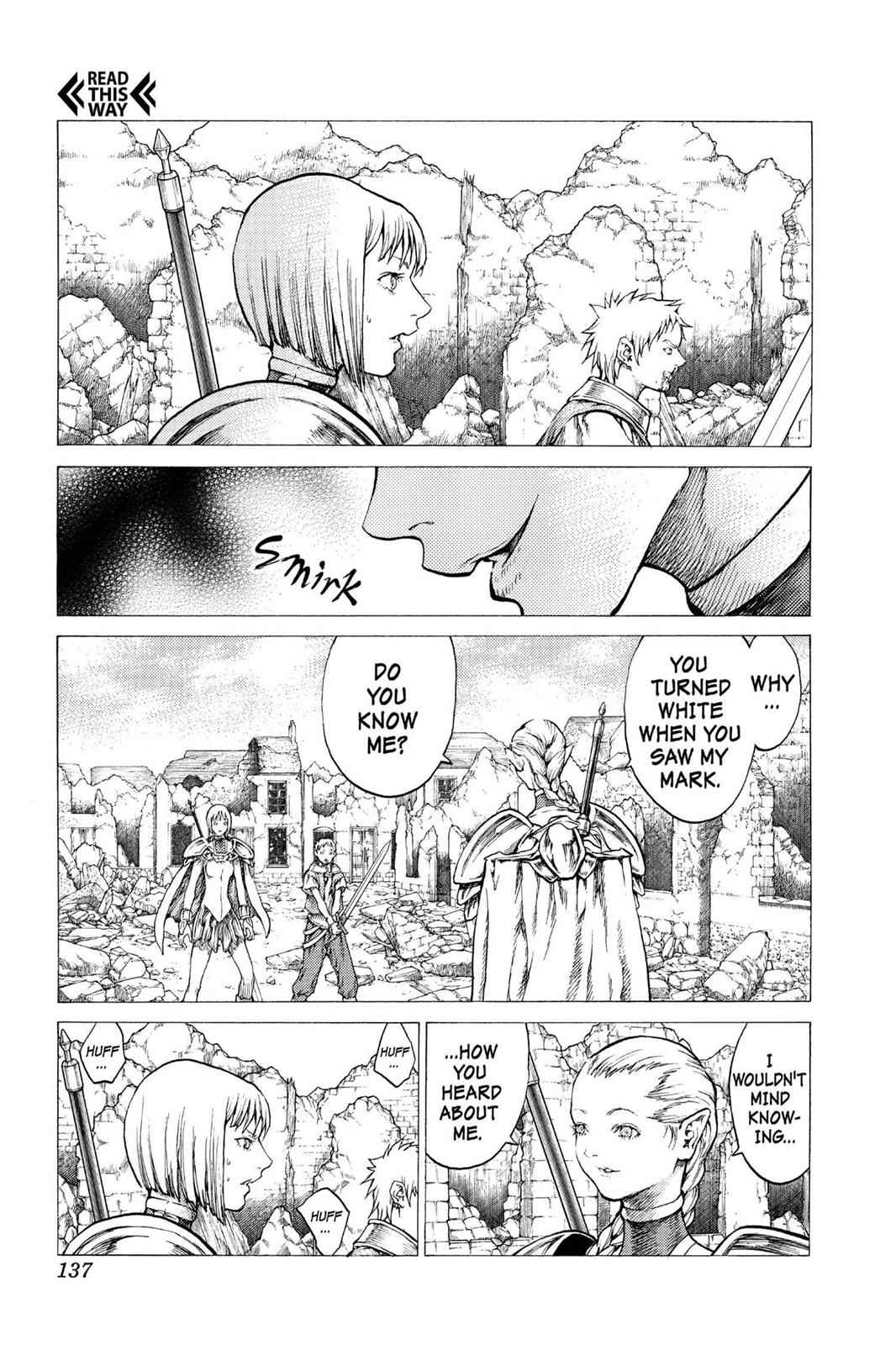 Claymore Chapter 32 Page 3