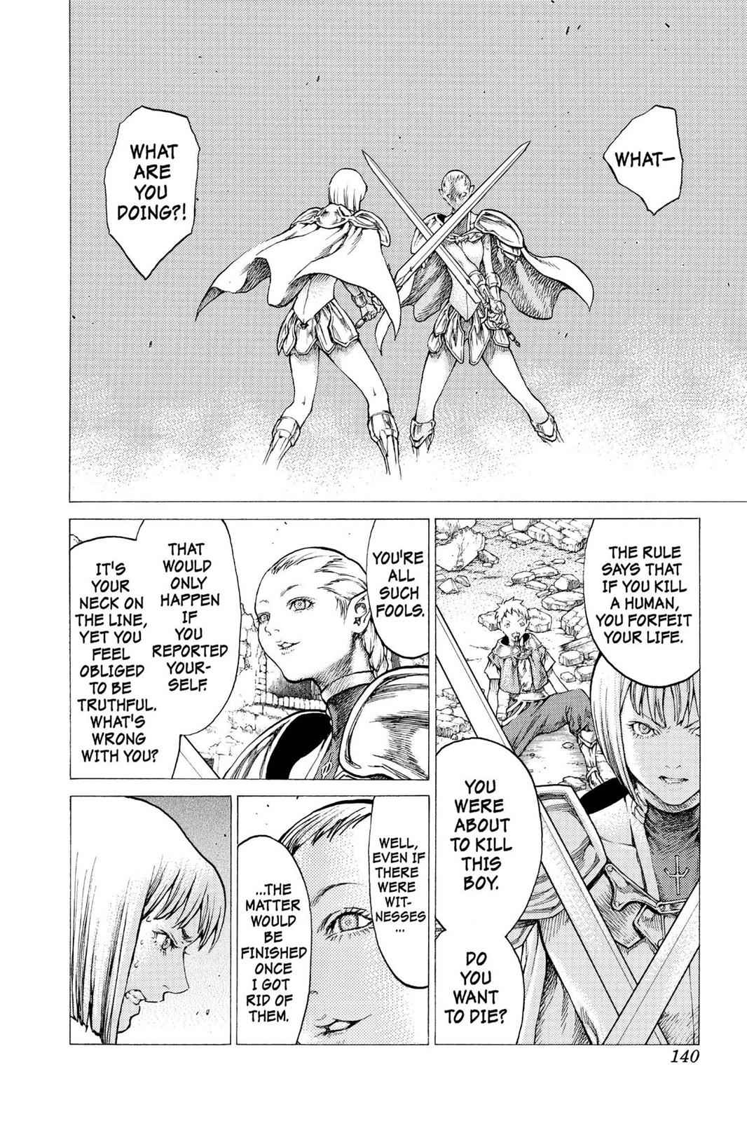 Claymore Chapter 32 Page 6