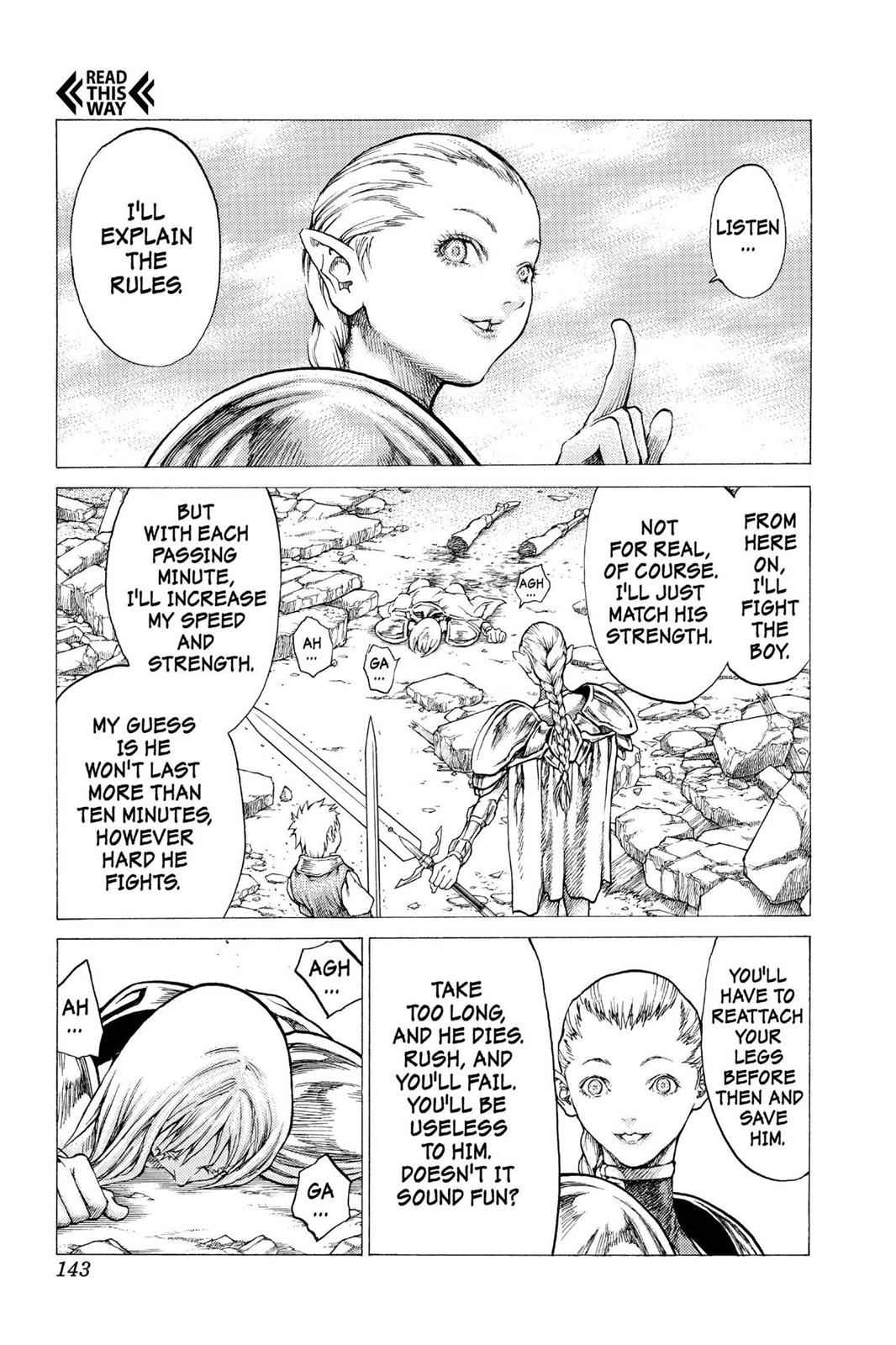 Claymore Chapter 32 Page 9