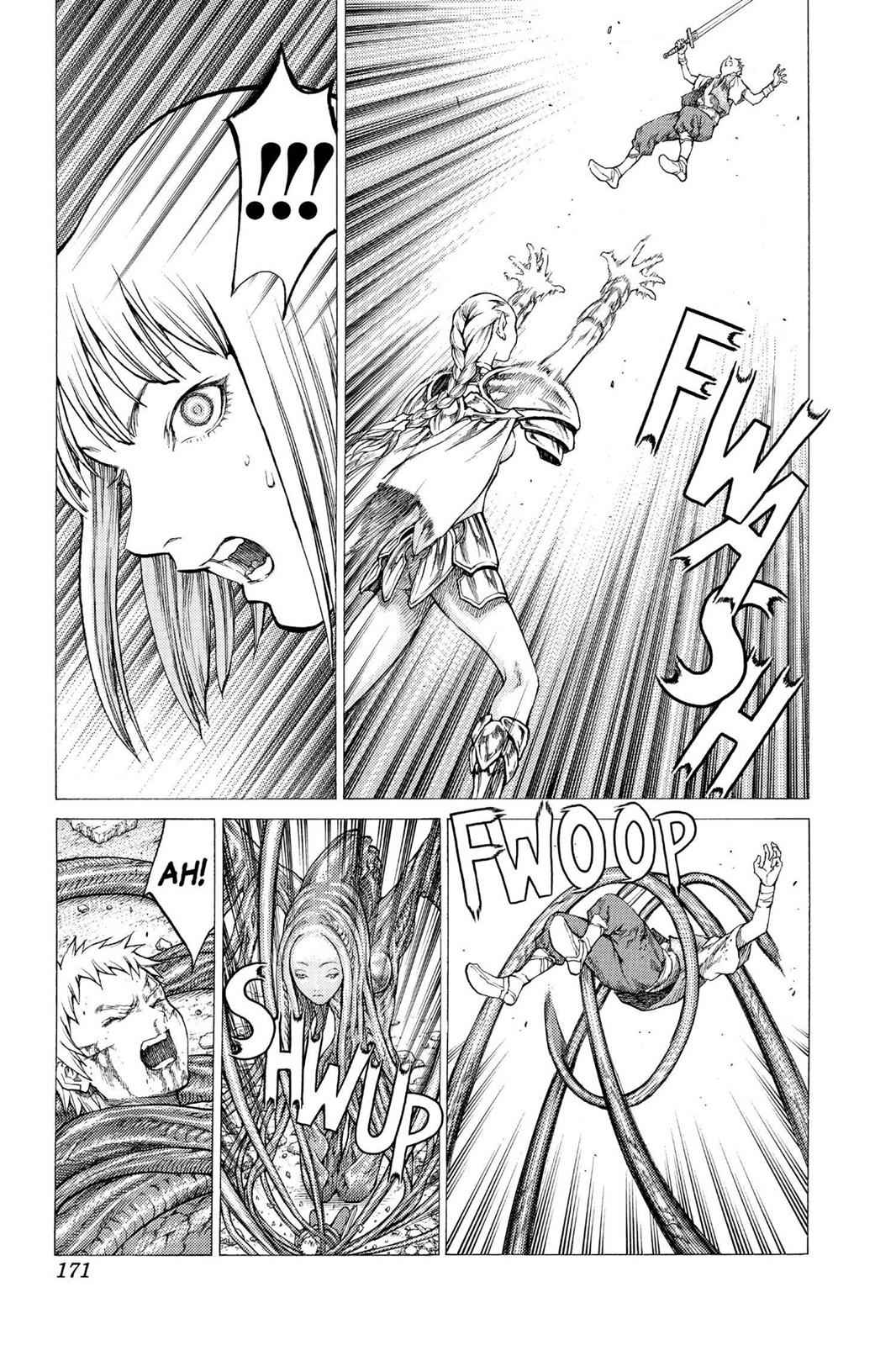 Claymore Chapter 33 Page 11