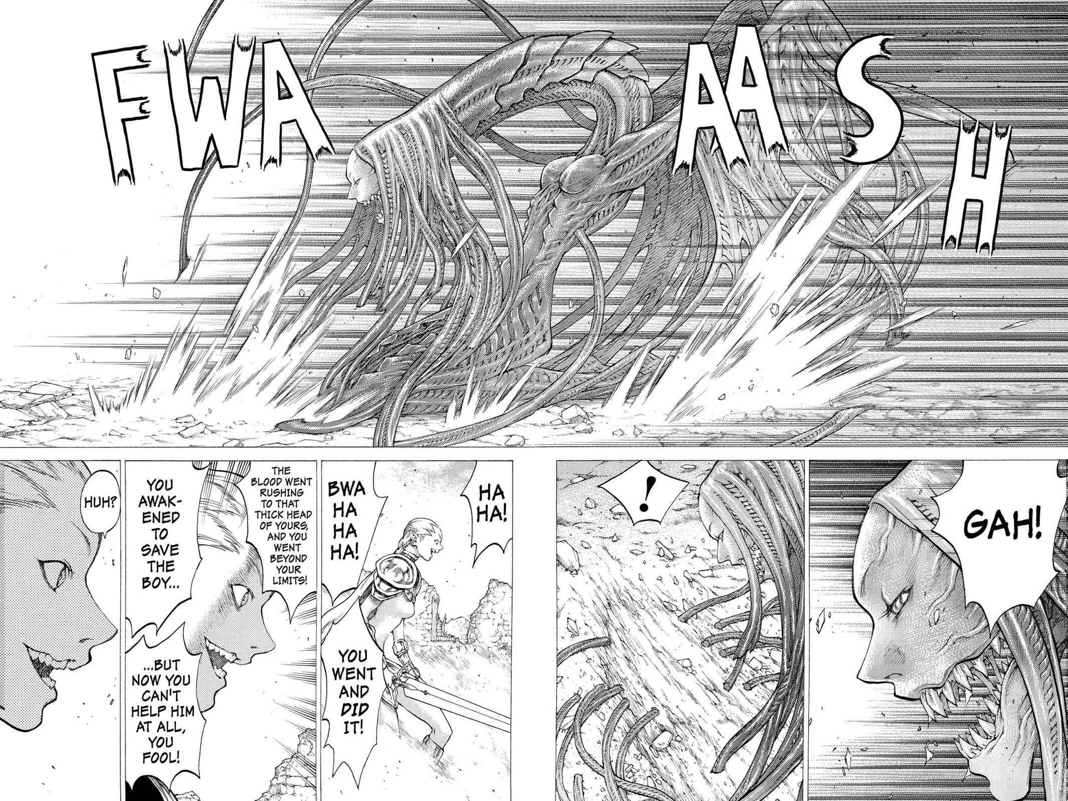 Claymore Chapter 33 Page 18