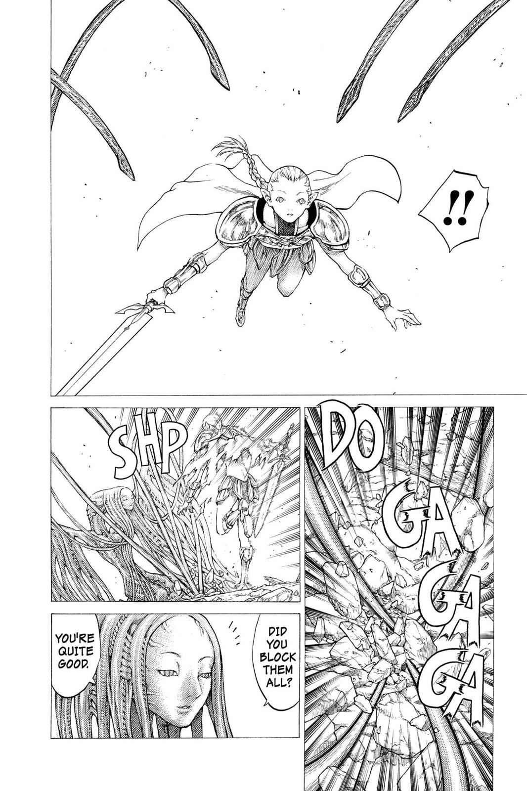Claymore Chapter 33 Page 25