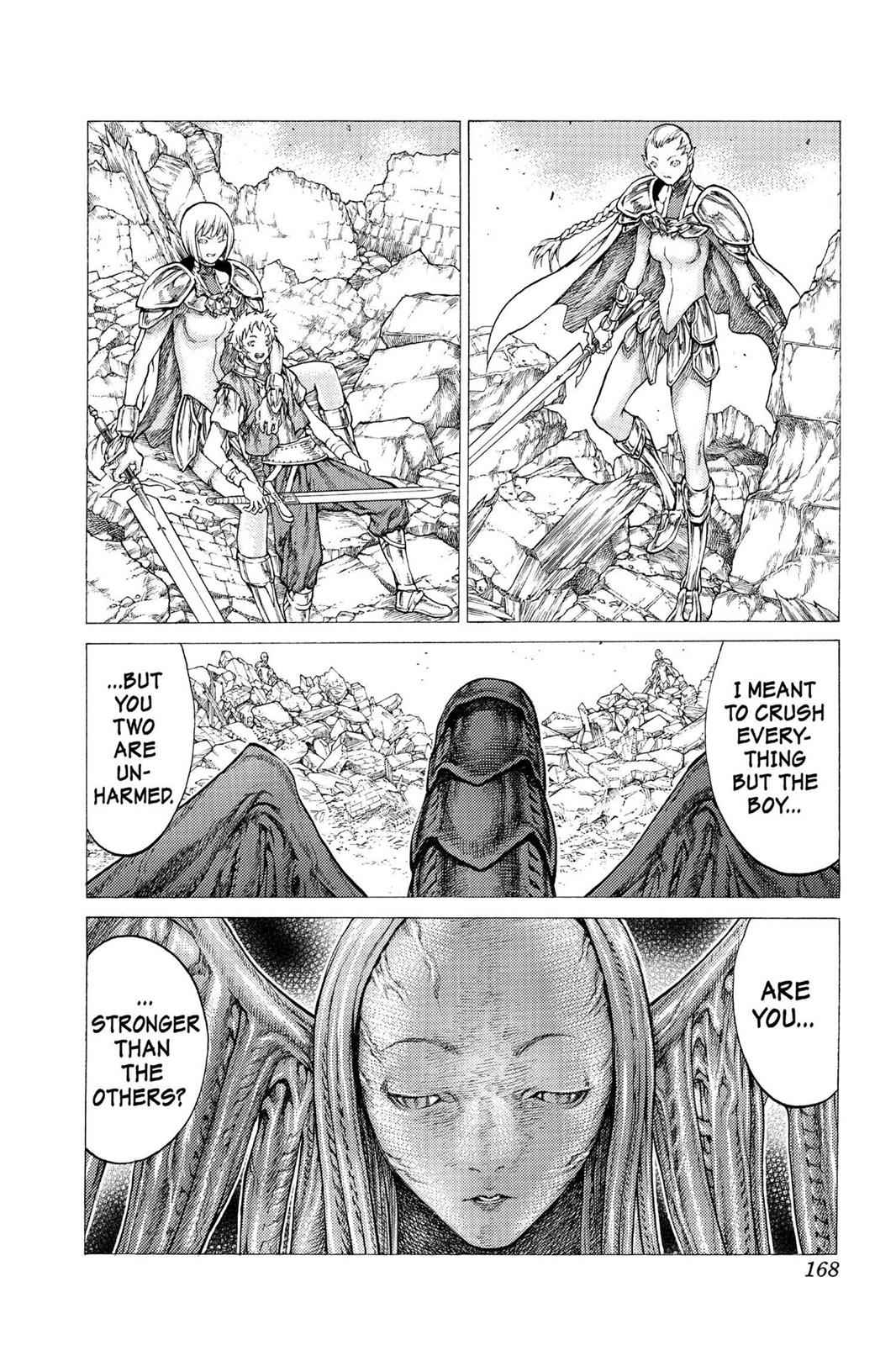 Claymore Chapter 33 Page 8