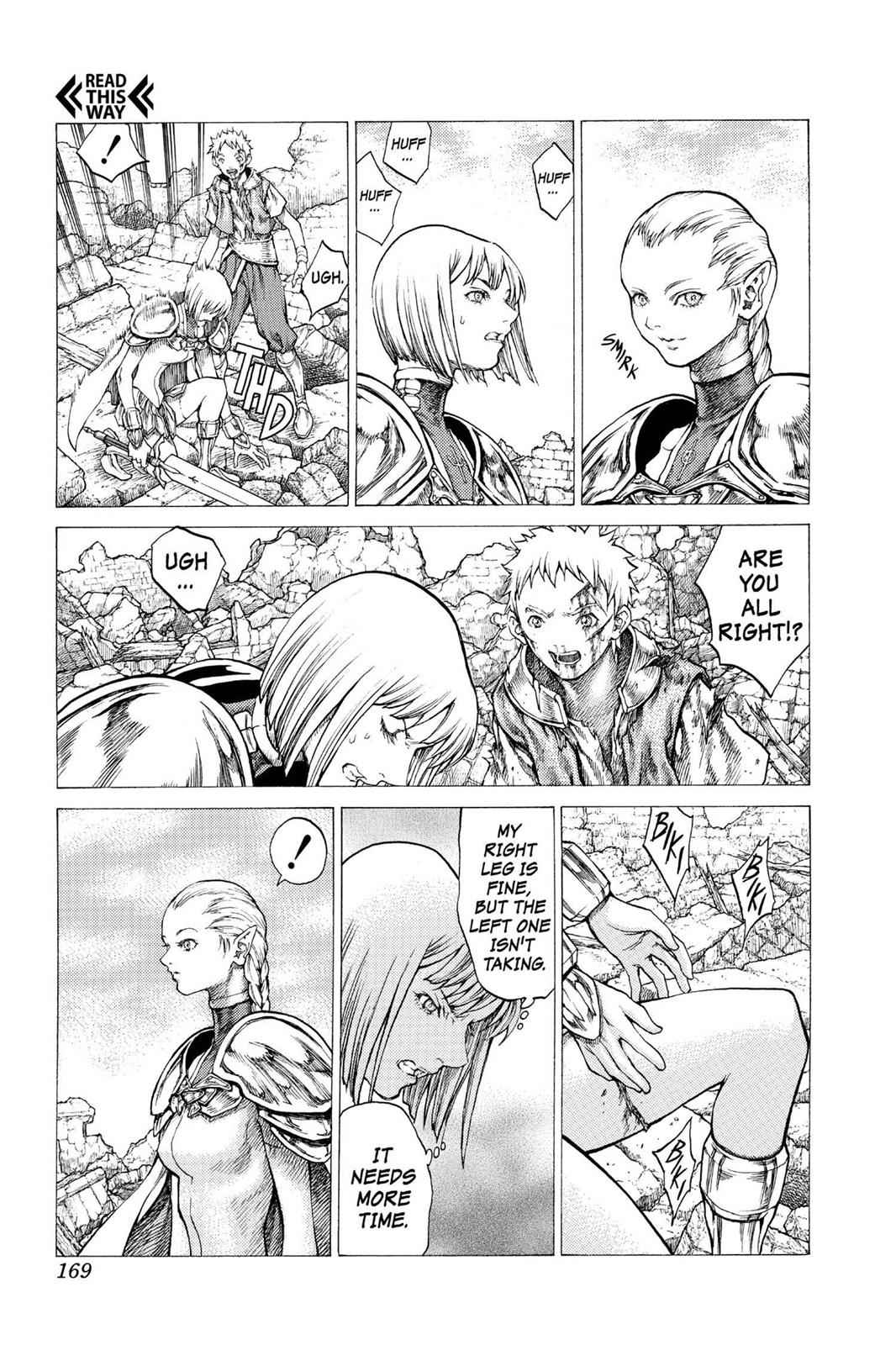 Claymore Chapter 33 Page 9