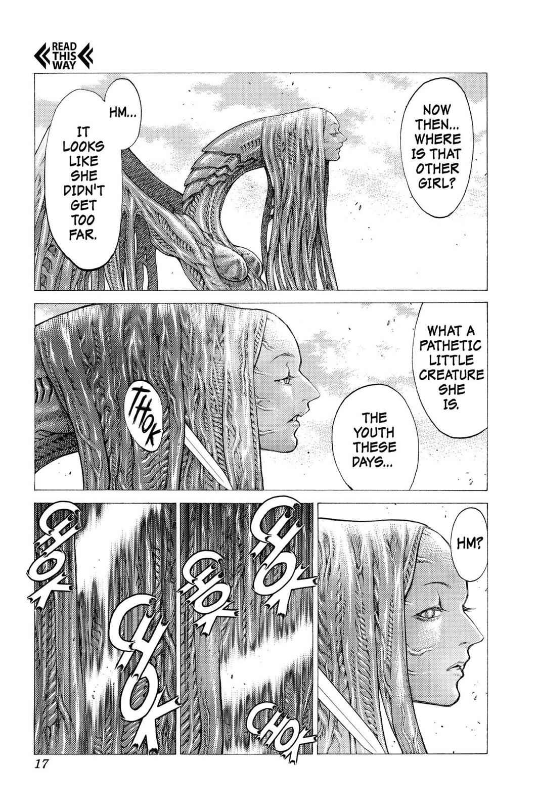 Claymore Chapter 34 Page 16