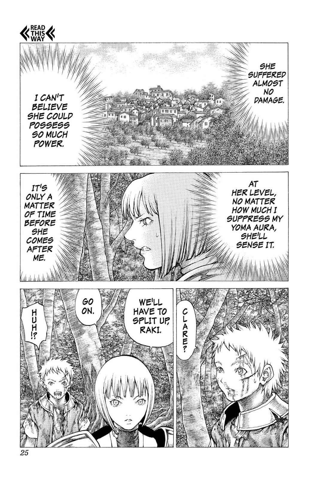 Claymore Chapter 34 Page 23