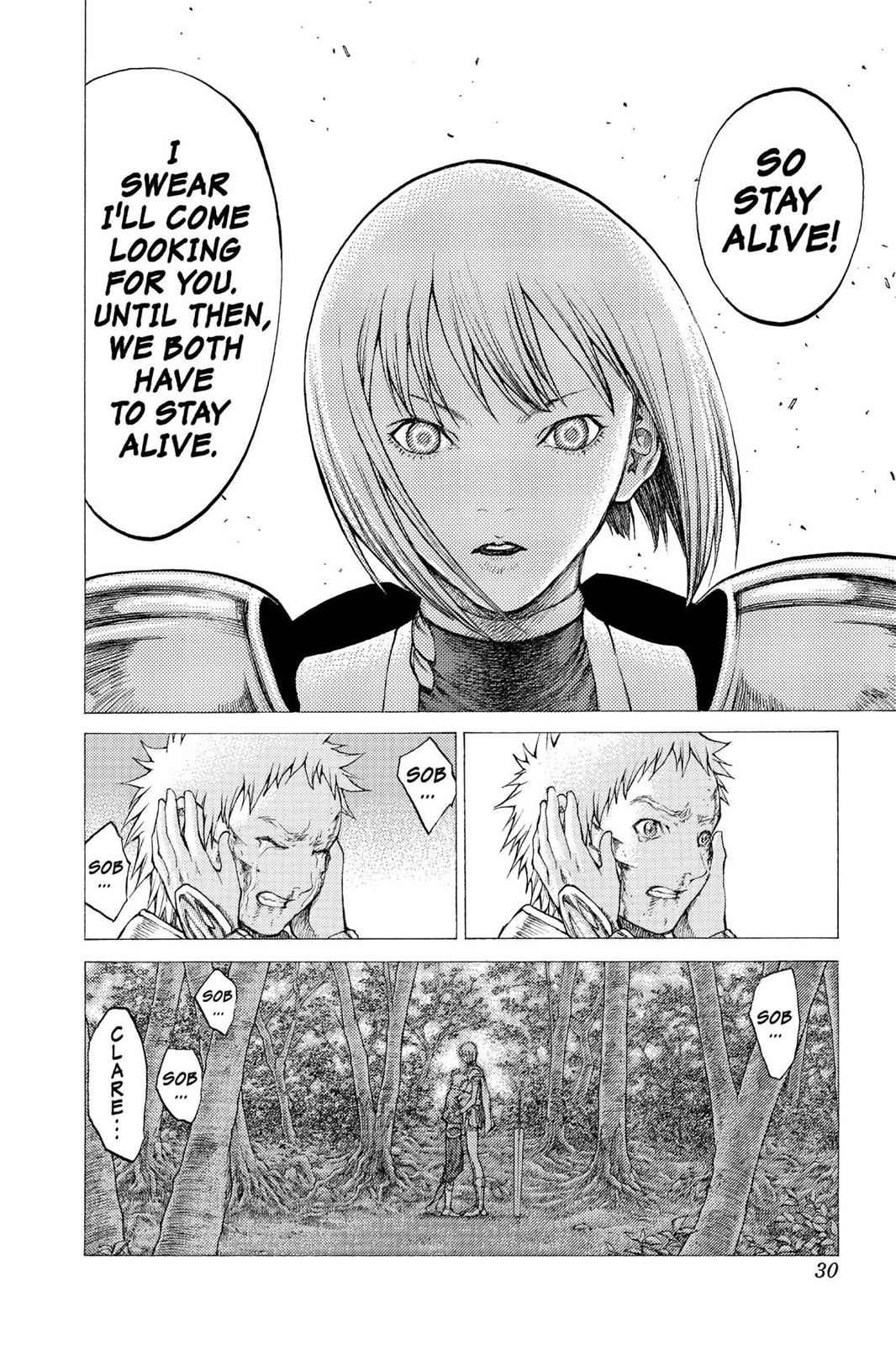 Claymore Chapter 34 Page 28