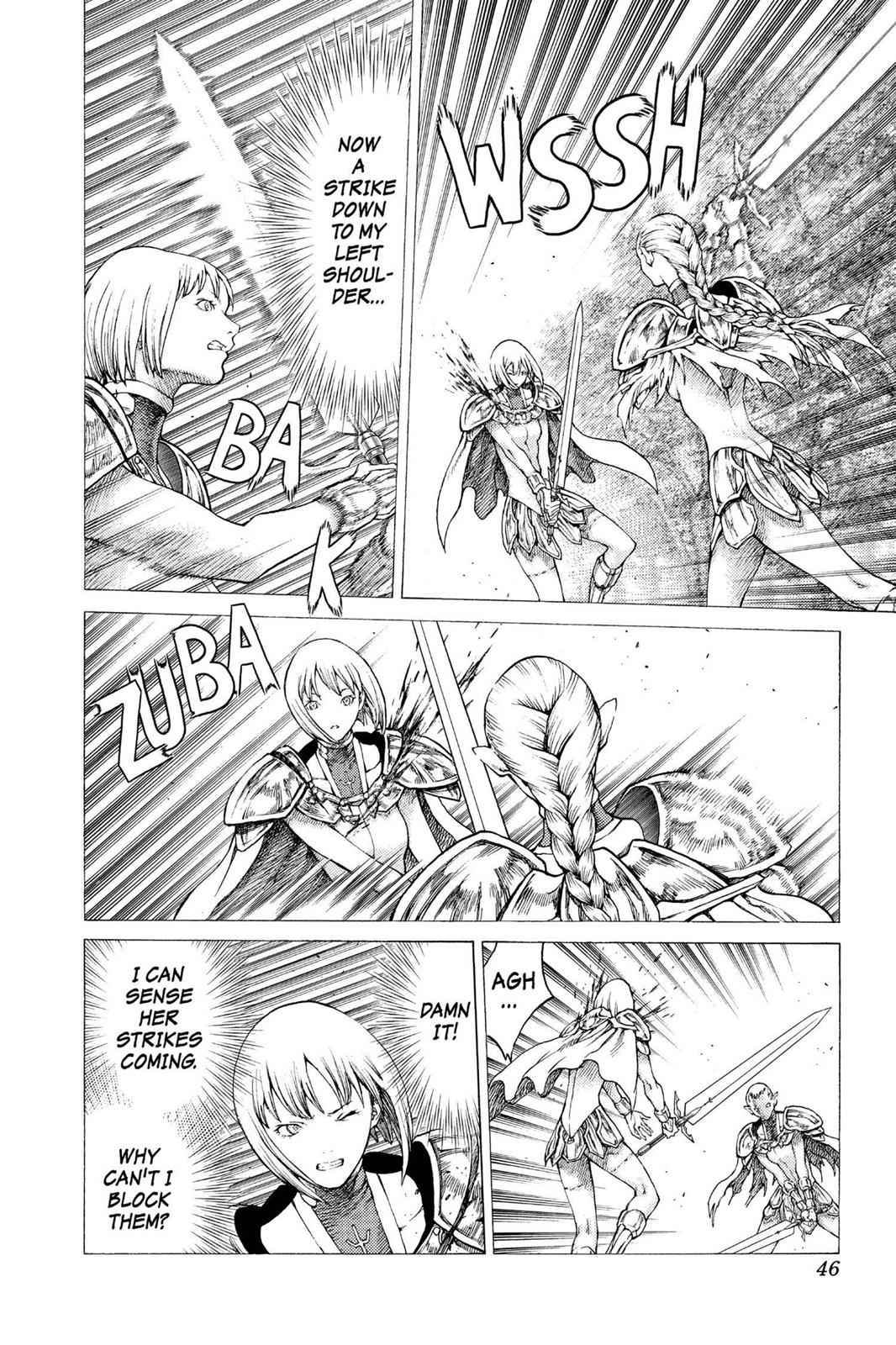 Claymore Chapter 35 Page 11