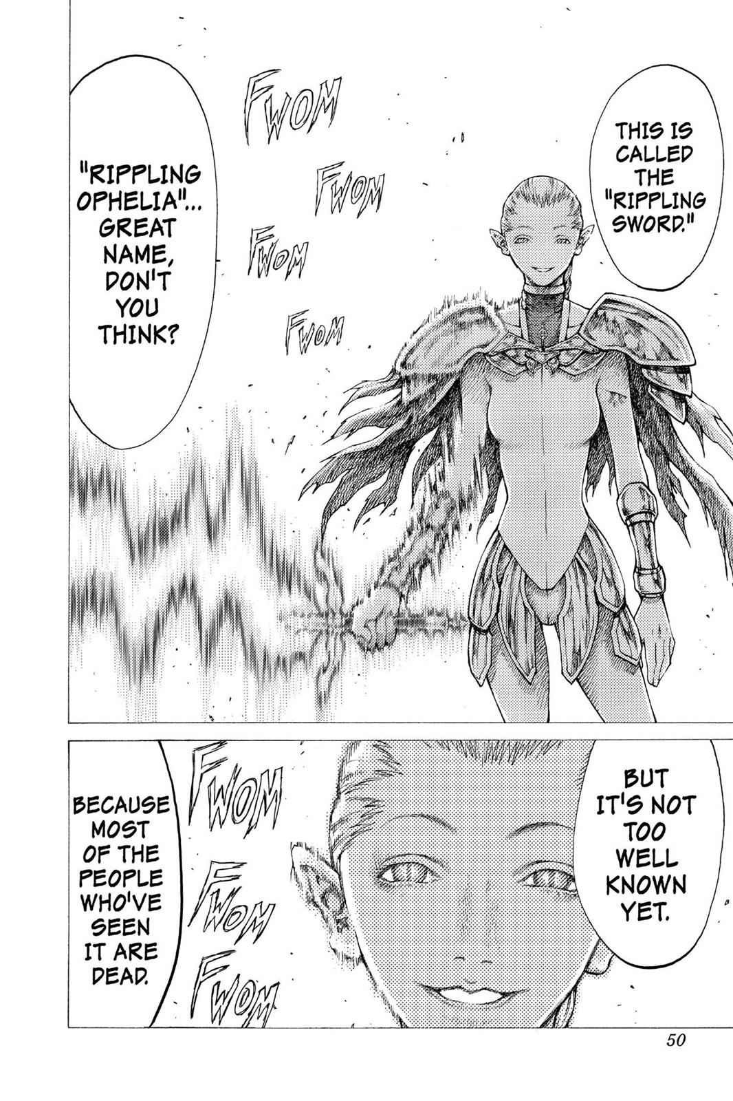 Claymore Chapter 35 Page 15
