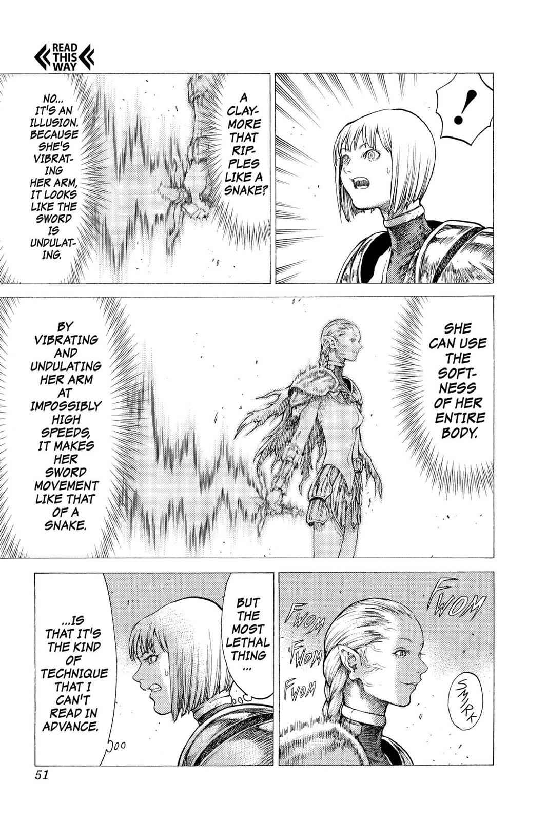 Claymore Chapter 35 Page 16