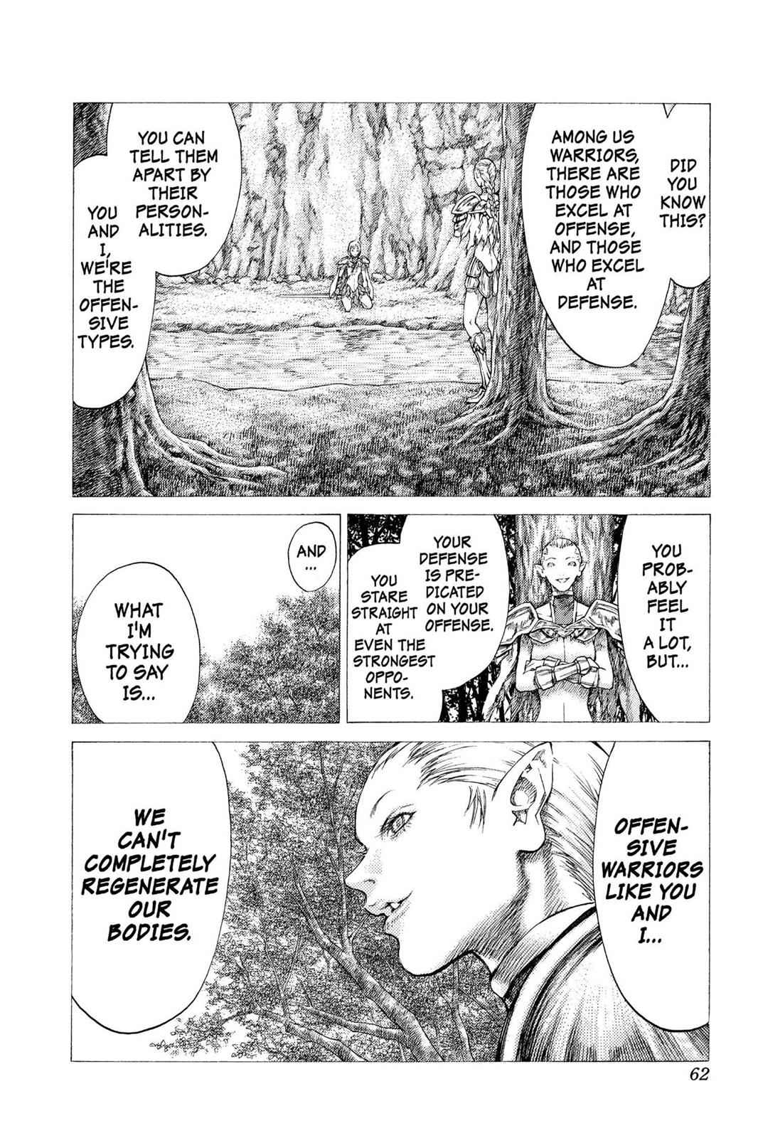Claymore Chapter 35 Page 27