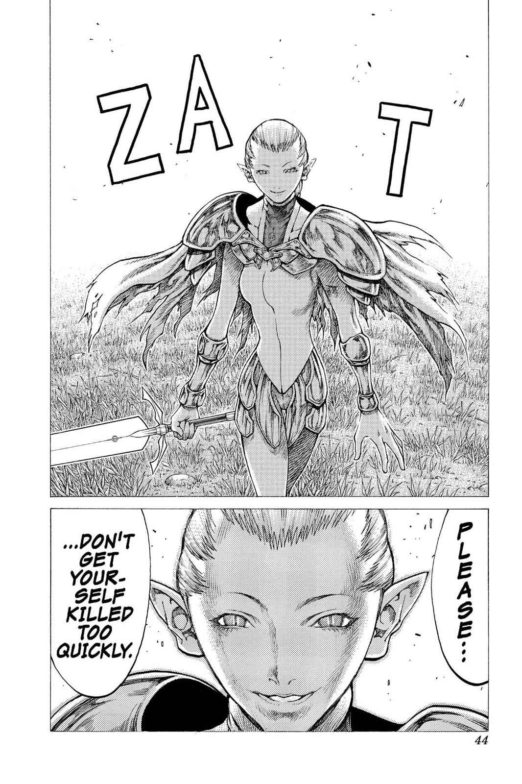 Claymore Chapter 35 Page 9