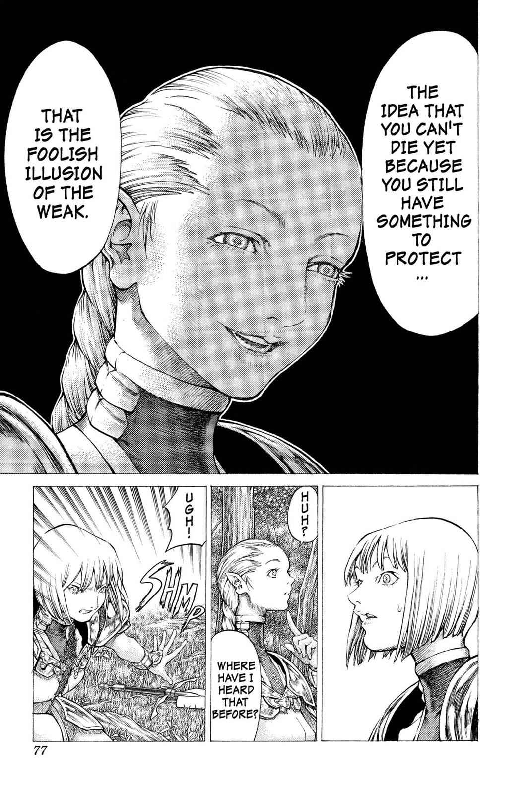 Claymore Chapter 36 Page 11