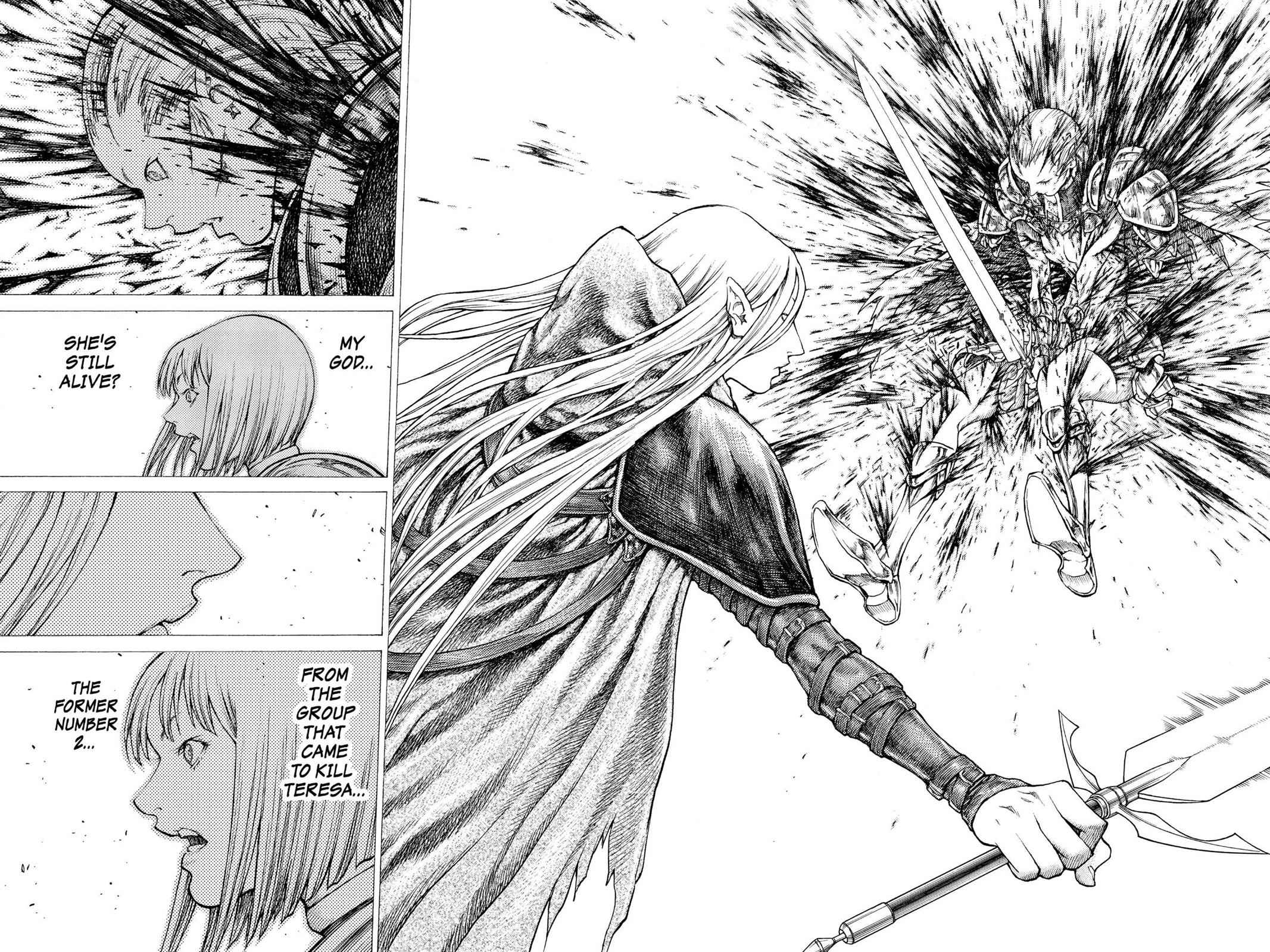 Claymore Chapter 36 Page 20