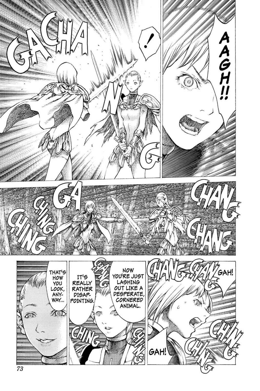 Claymore Chapter 36 Page 7