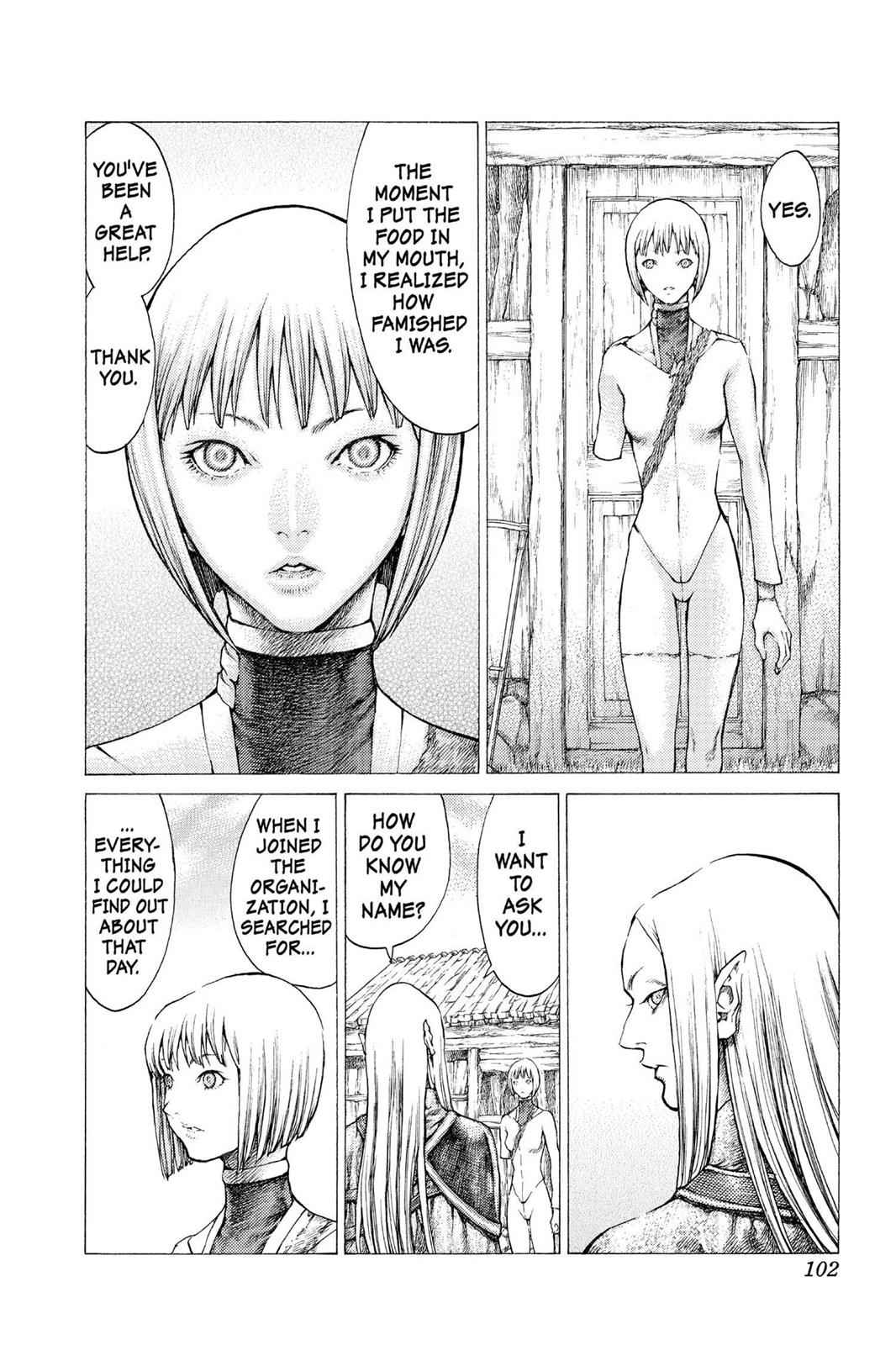 Claymore Chapter 37 Page 13