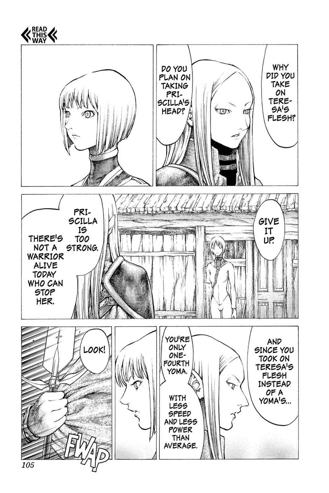 Claymore Chapter 37 Page 16