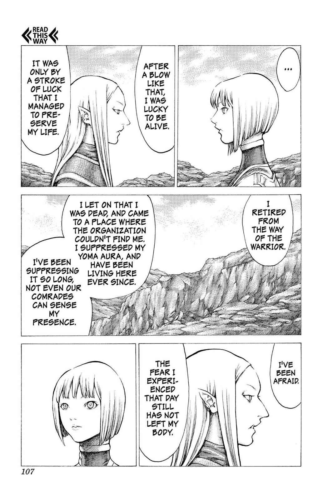 Claymore Chapter 37 Page 18