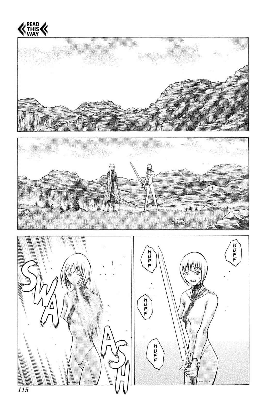 Claymore Chapter 37 Page 26