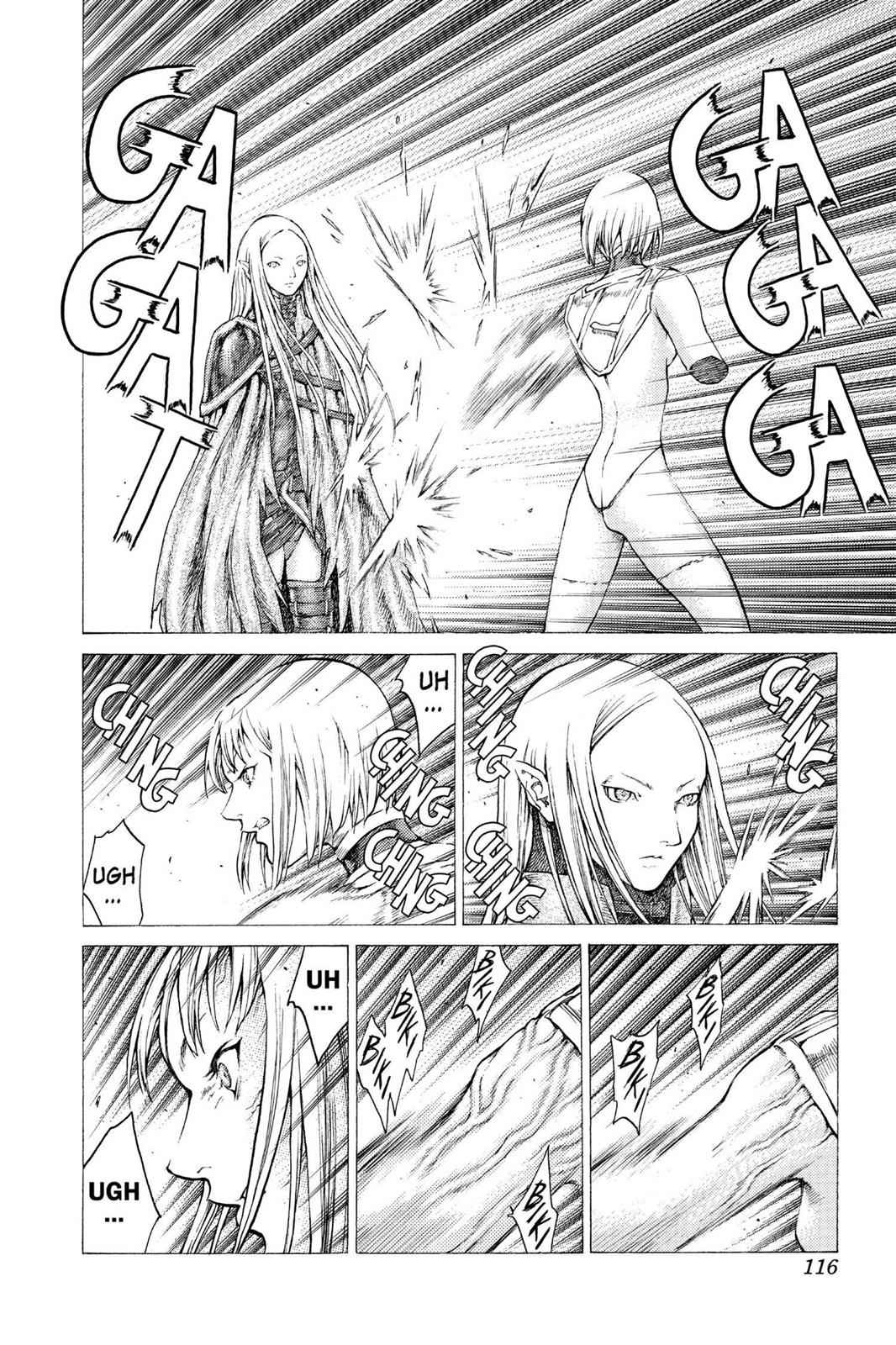 Claymore Chapter 37 Page 27