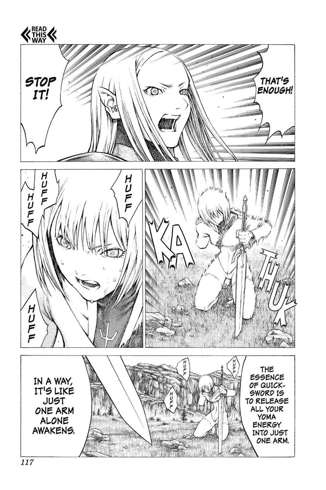 Claymore Chapter 37 Page 28