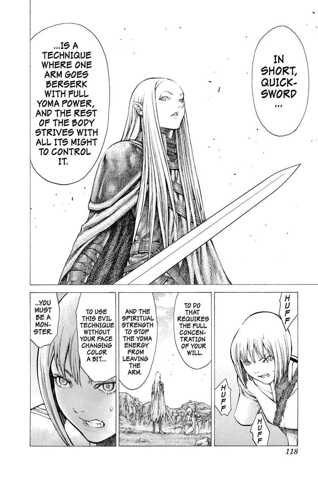 Claymore Chapter 37 Page 29