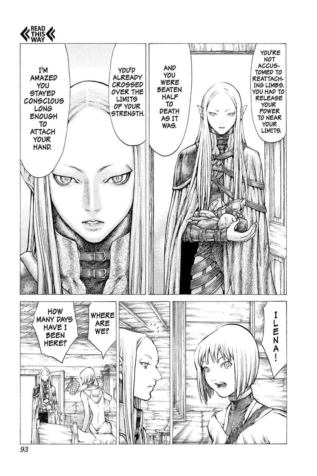 Claymore Chapter 37 Page 4