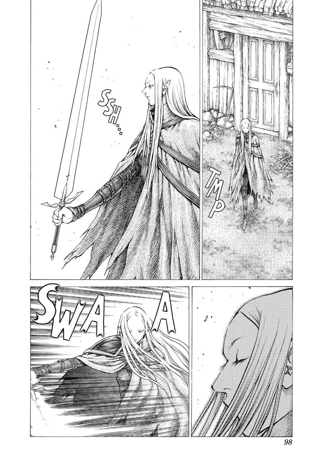Claymore Chapter 37 Page 9