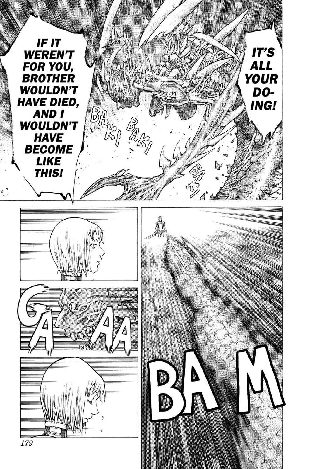Claymore Chapter 39 Page 23