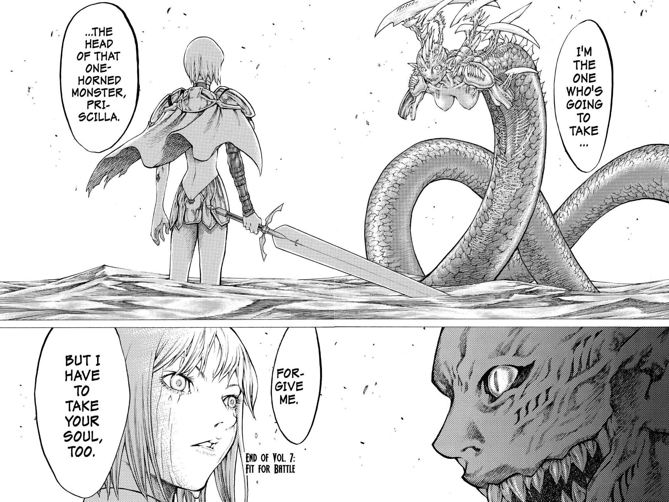 Claymore Chapter 39 Page 27