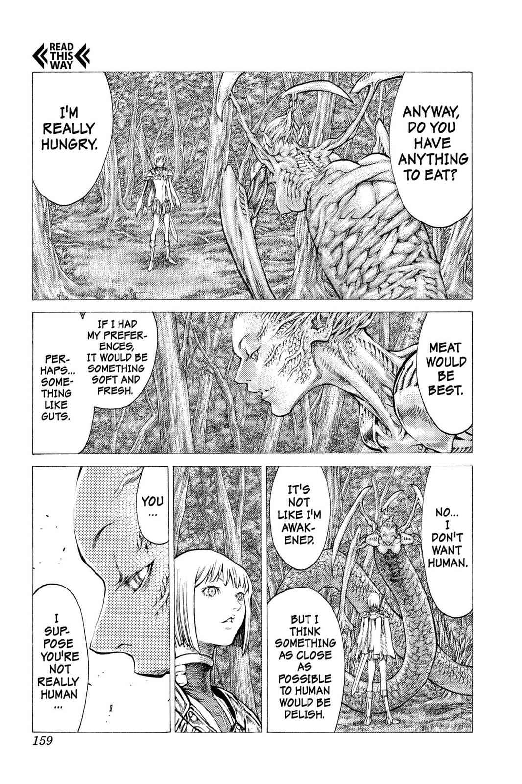 Claymore Chapter 39 Page 4