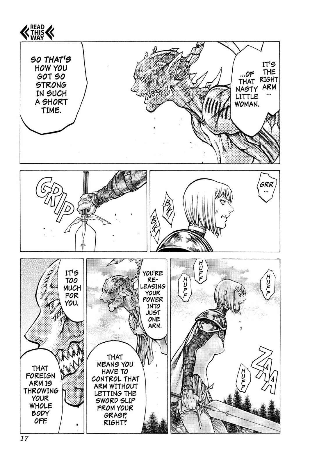 Claymore Chapter 40 Page 16